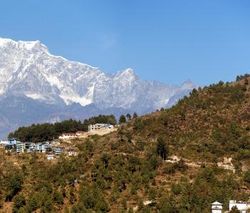 Phaplu village Nepal