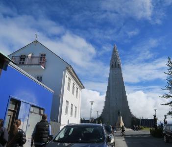 Hallgrimskirkja church.