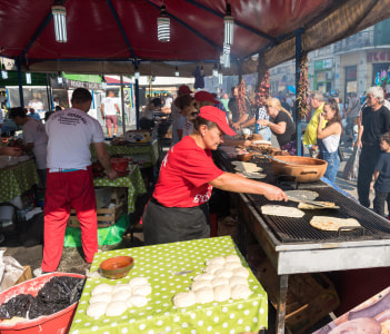 The yearly Leskovac Grill Festival also known as the barbecue week in Serbia