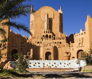 Sidi Abaz monument in Ghardaia city Algeria