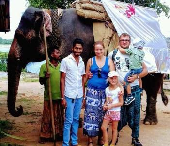 Habarana eliphant safari