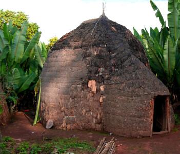 Traditional Dorze tribe village in Chencha, Ethiopia
