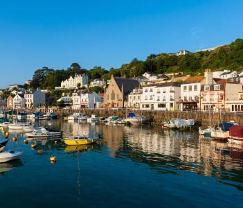 Village of Saint Aubin Jersey Channel Islands UK