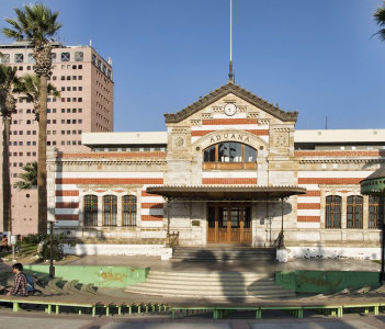 The old Arica Customs House