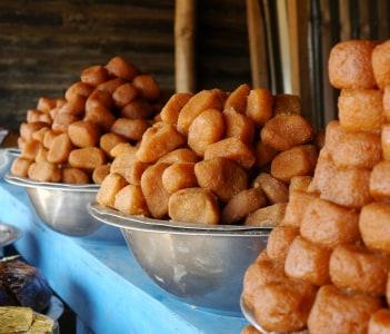 Chhena Gaja famous sweet of Odisha Cuttack India