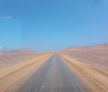 Salt road.
