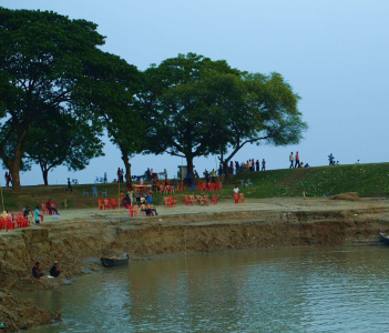 Padma River at Rajshahi