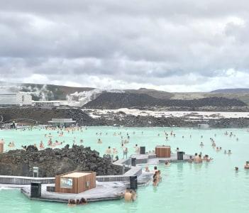 Grindavik blue lagoon