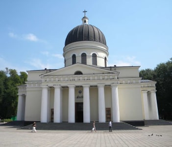 Cathedral in Chisinau