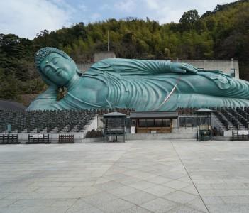 Bronze Buddha Fukuoka Japan