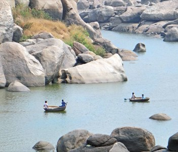 La rivière Tungabhadra