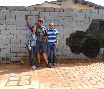 soweto tour at Vilakazi street