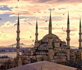 Blue Mosque(Sultanahmet Mosque)