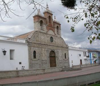 Church in Riobamba