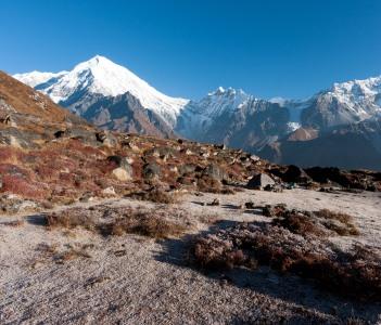 Towards Langtang through Helambu Nepal