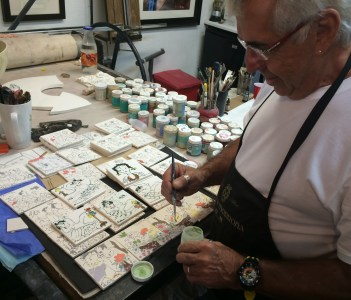See Local Artists At Work