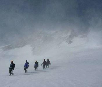 Avalanche Gulch, Mt. Shasta, California
