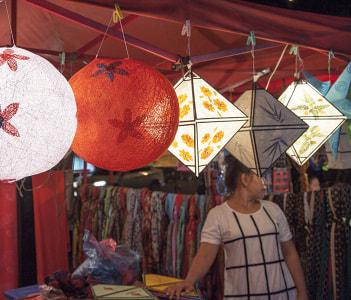 Night market, Laos