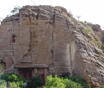 Abune Gebre Mikael Rock -hewn church(Exterior)