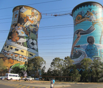 Soweto Coal Fired Electric Plant