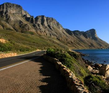 Coastline Near Strand - South Africa