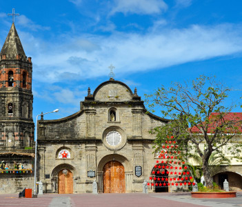 Historic Barasoain Church in Malolos City Philippines