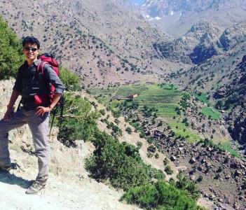 Azzaden valley Morocco Atlas Mountains