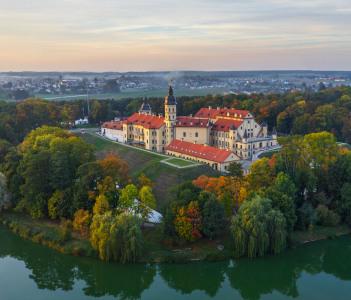 Nesvizh castle in Belarus