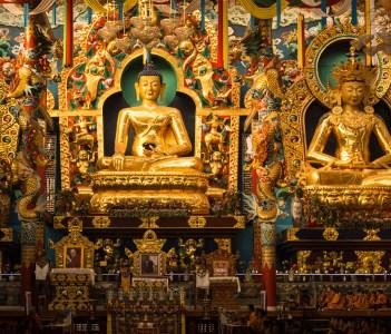 Namdroling monastry, Coorg, Karnataka