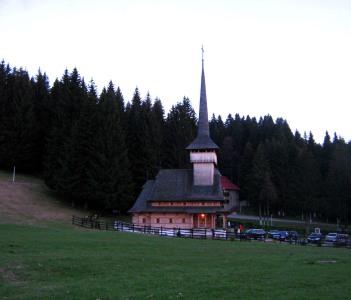 Wooden Church in Poiana Brasov