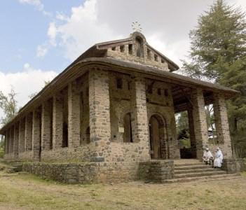 Church of Debra Berhan Selassie