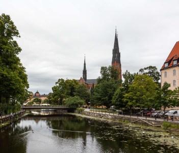Uppsala's Main Landmark - The Cathedral (Uppsala Domkyrka)