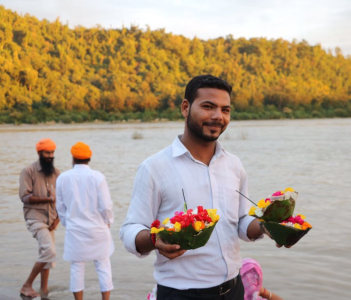 Take Blessing from Goddess Ganga