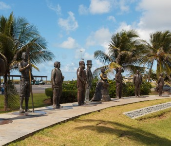 Monument to national founders Aracaju SE Brazil