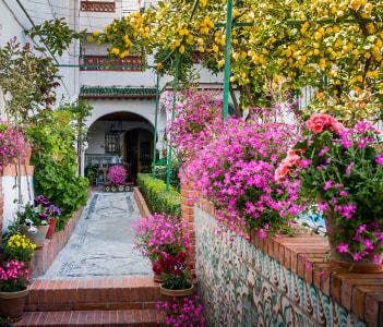 Albaicin Neighbourhood in Granada Spain