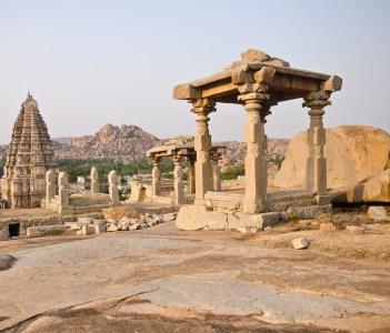 Virupaksha Temple Hampi near Hospet Karnataka