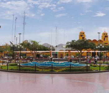 Nazca, Plaza de Armas