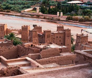 Taourirt Kasbah Ouarzazate Morocco