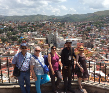 Discovering Guanajuato with friends from Spain
