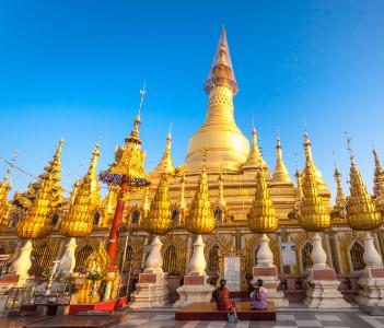 Shwesandaw Paya ,Pyay,Myanmar