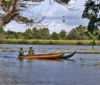 Lake in Habarana