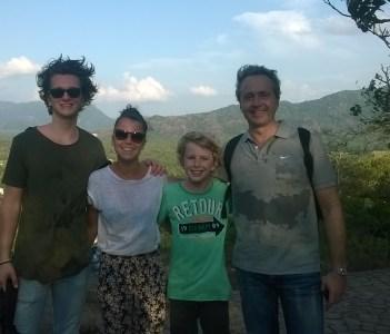 Mr. Johan & family
