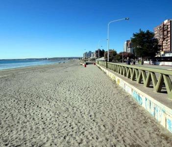 Beach at Puerto Madryn