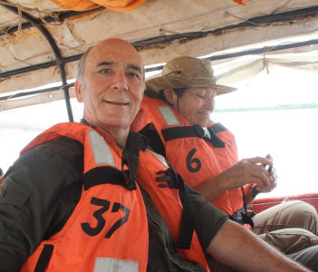 navegating on the amazon