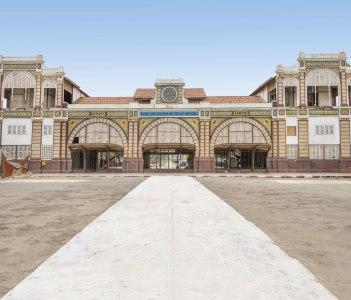 Abandoned railway station of Dakar, Senegal