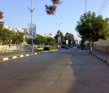 Ein Sahrah Main Street
