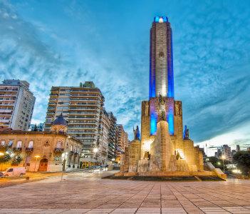 Sunset at Monumento a la Bandera