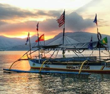 Subic Bay Sunset View