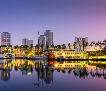 Long Beach, California, USA skyline