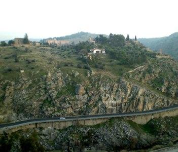 Sierra Morenas landscape